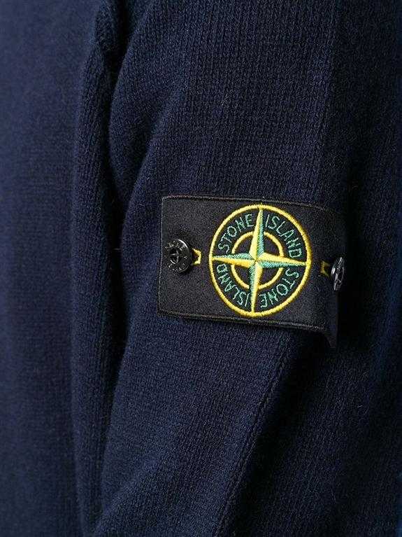 Stone Island - Maglie - maglione girocollo blu 1