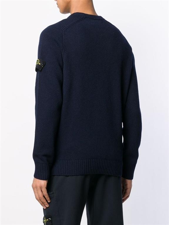 Stone Island - Maglie - maglione girocollo blu 2