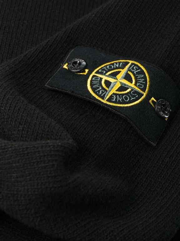 Stone Island - Maglie - maglione girocollo nero 1
