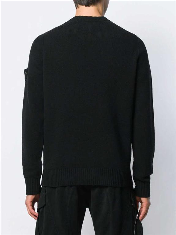 Stone Island - Maglie - maglione girocollo nero 2