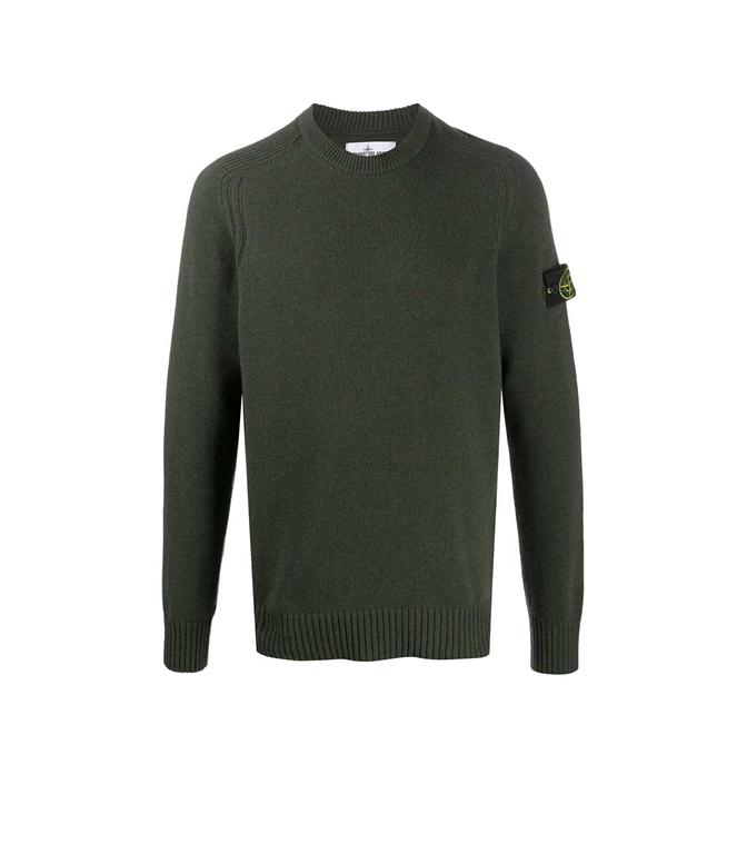 Stone Island - Maglie - maglione girocollo muschio