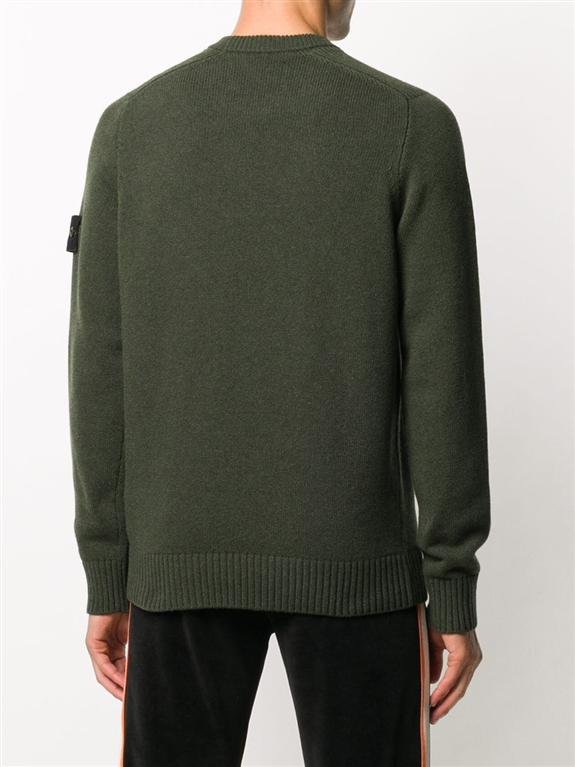 Stone Island - Maglie - maglione girocollo muschio 2