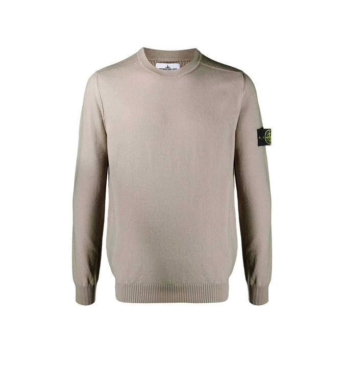 Stone Island - Maglie - maglione girocollo fango