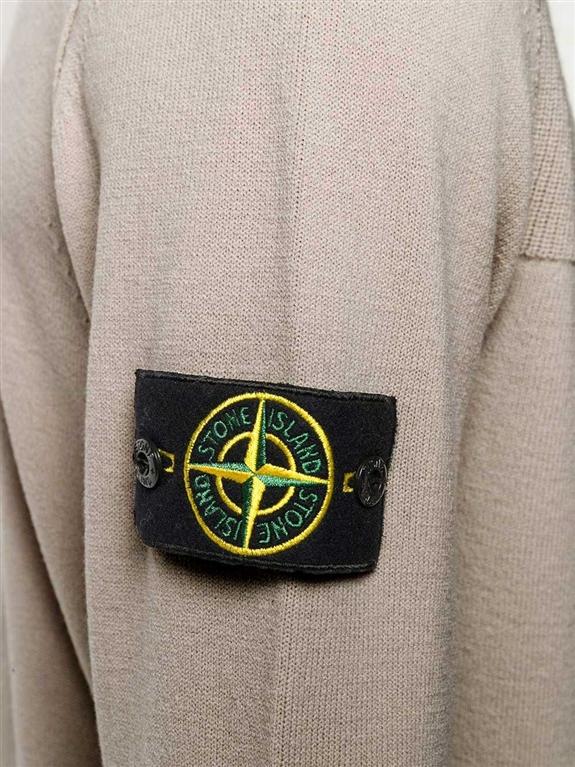 Stone Island - Maglie - maglione girocollo fango 1