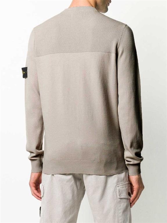 Stone Island - Maglie - maglione girocollo fango 2