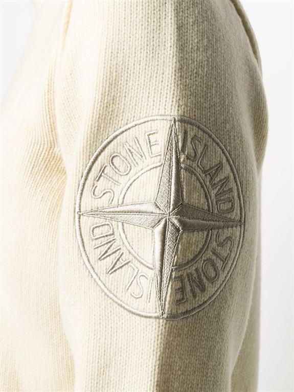 Stone Island - Maglie - maglione lana burro 1