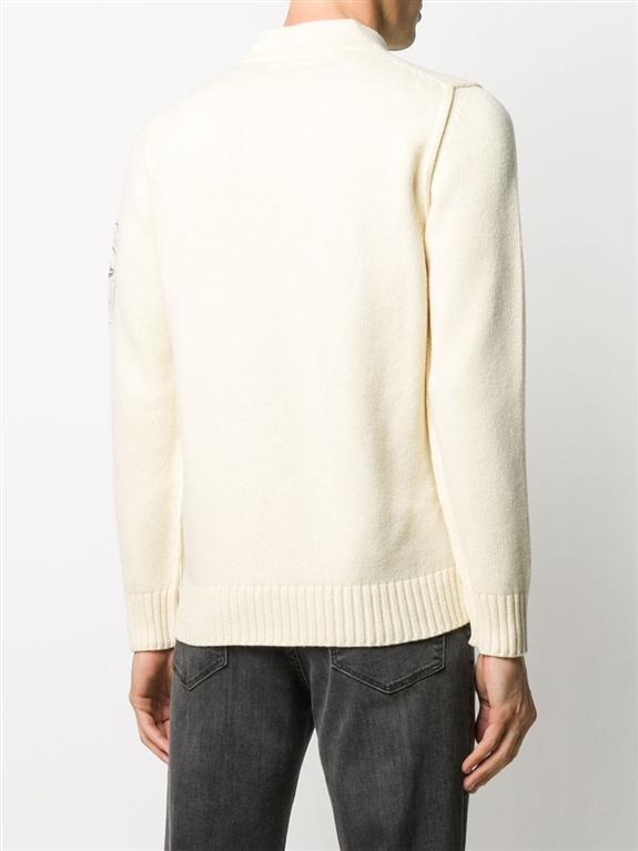 Stone Island - Maglie - maglione lana burro 2