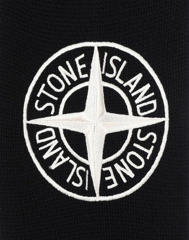 Stone Island - Maglie - cardigan lambswool nero 2
