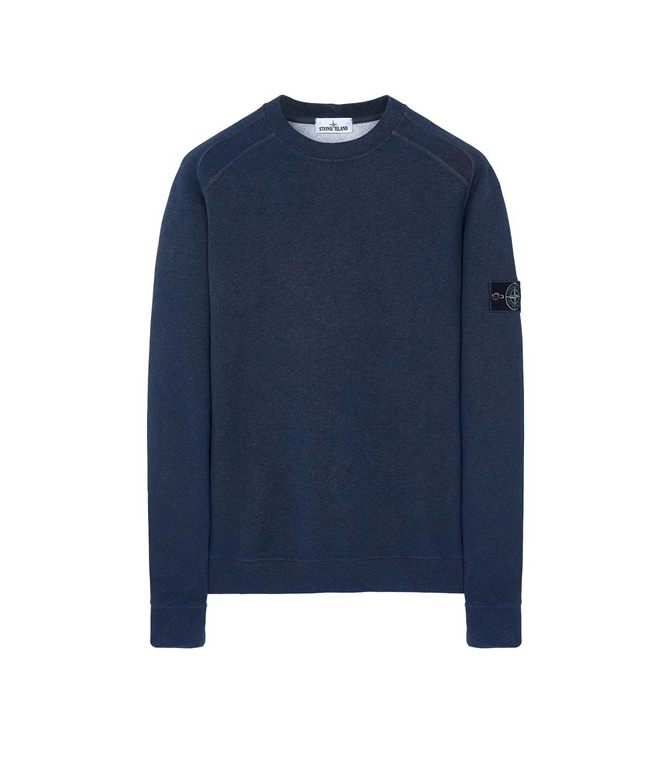 Stone Island - Felpe - FELPA DUST COLOUR PERVINCA