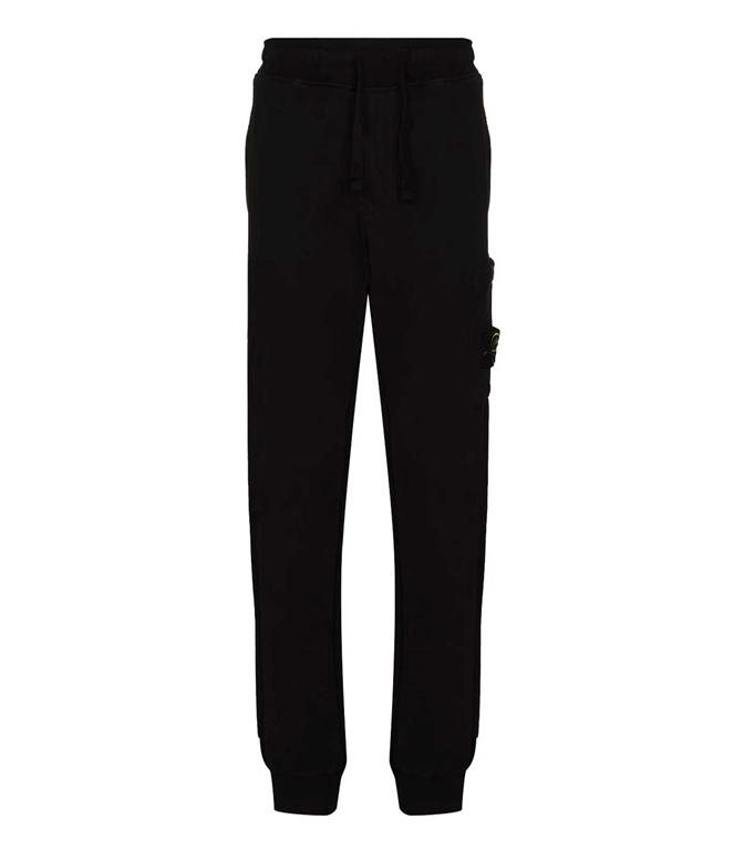 Stone Island - Pantaloni - pantalone in felpa nero