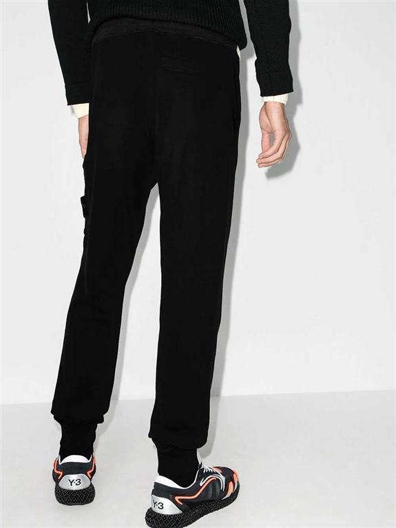 Stone Island - Pantaloni - pantalone in felpa nero 1