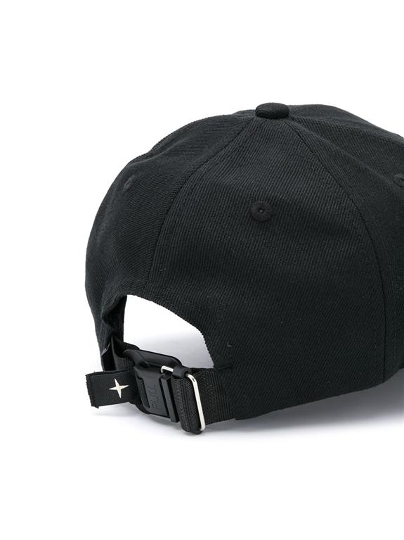 Stone Island - Cappelli - cappello con visiera nero 1