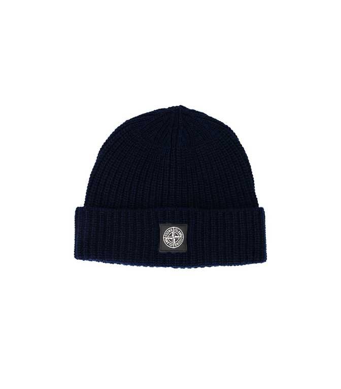 Stone Island - Cappelli - berretto coste blu