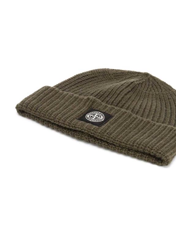 Stone Island - Cappelli - berretto coste muschio 1