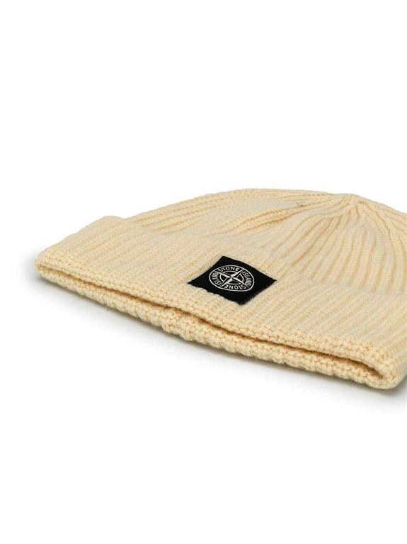 Stone Island - Cappelli - berretto coste tortora 1
