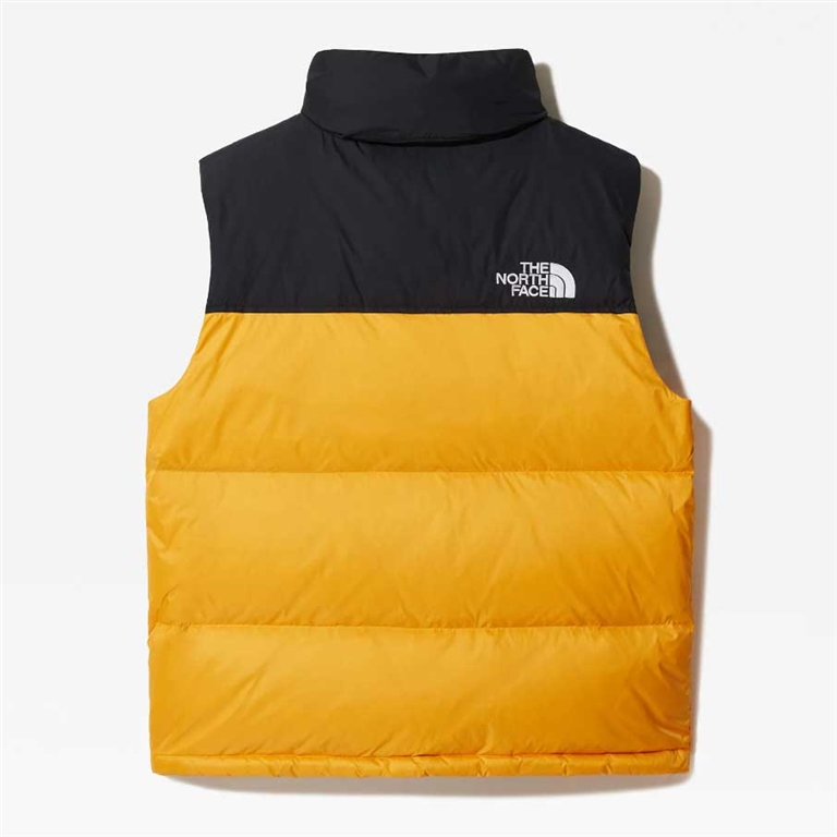 The North Face - Gilet - gilet in piumino 1996 retro nuptse gold 1
