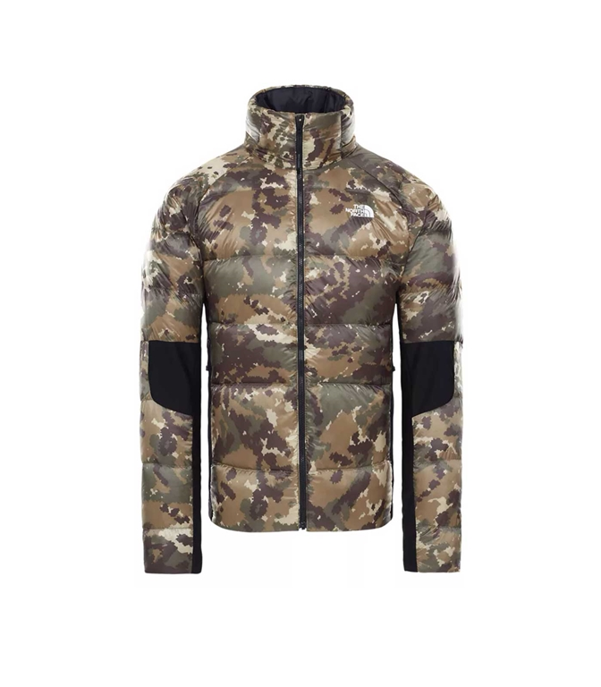 The North Face - Giubbotti - giacca ibrida in piumino uomo crimptastic militare