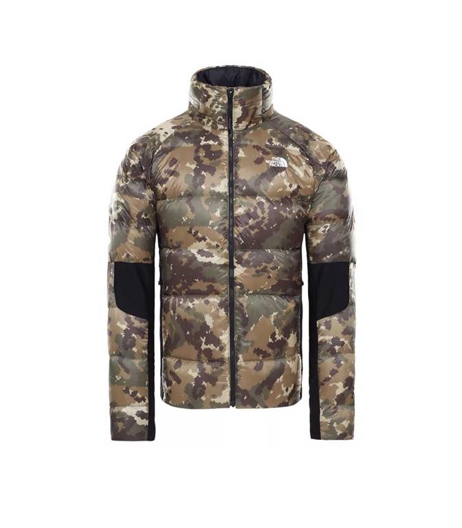 The North Face - Giubbotti - giacca ibrida in piumino uomo crimptastic militare