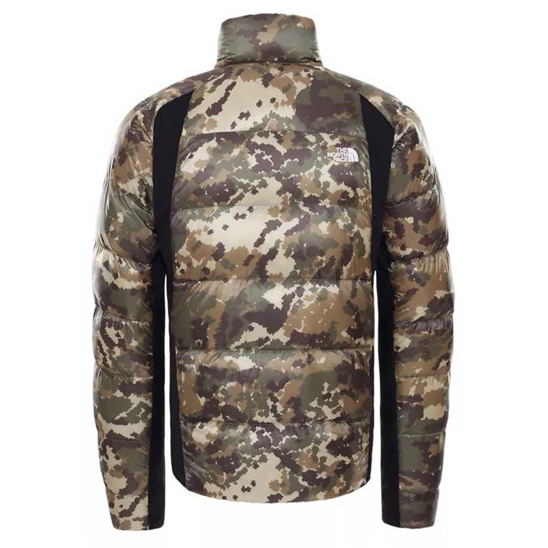 The North Face - Giubbotti - giacca ibrida in piumino uomo crimptastic militare 1