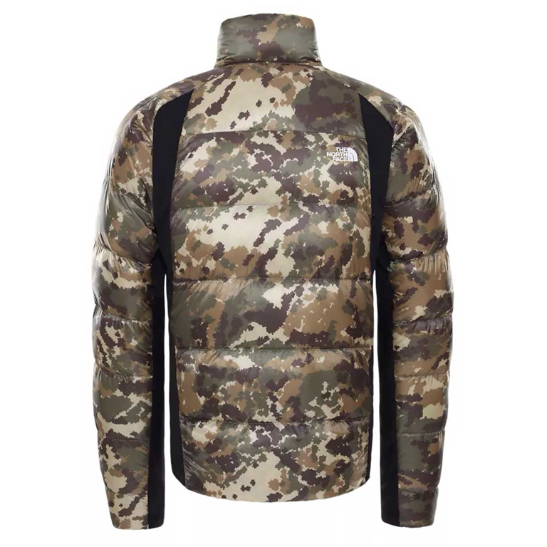 The North Face - Giubbotti - giacca ibrida in piumino uomo crimptastic militare 1