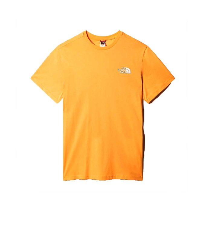 The North Face - Maglie - t-shirt simple dome gold