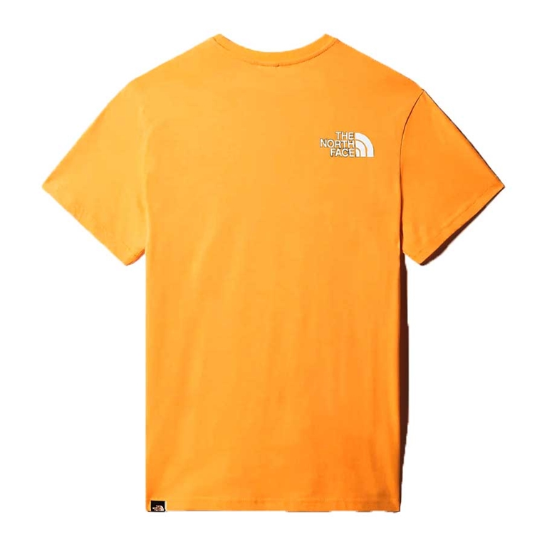The North Face - Maglie - t-shirt simple dome gold 1