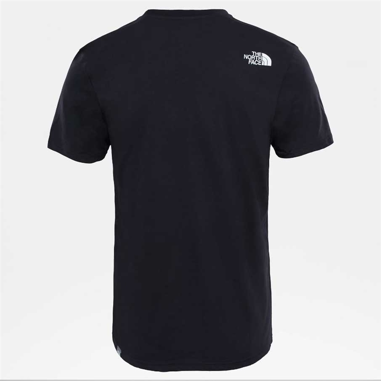 The North Face - Maglie - t-shirt simple dome nera 1
