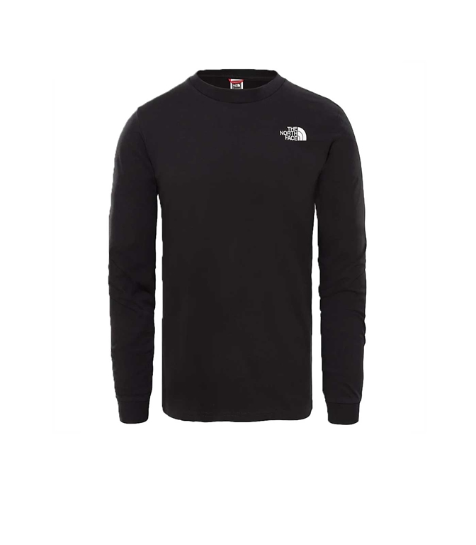 The North Face - T-Shirt - t-shirt a maniche lunghe simple dome nera