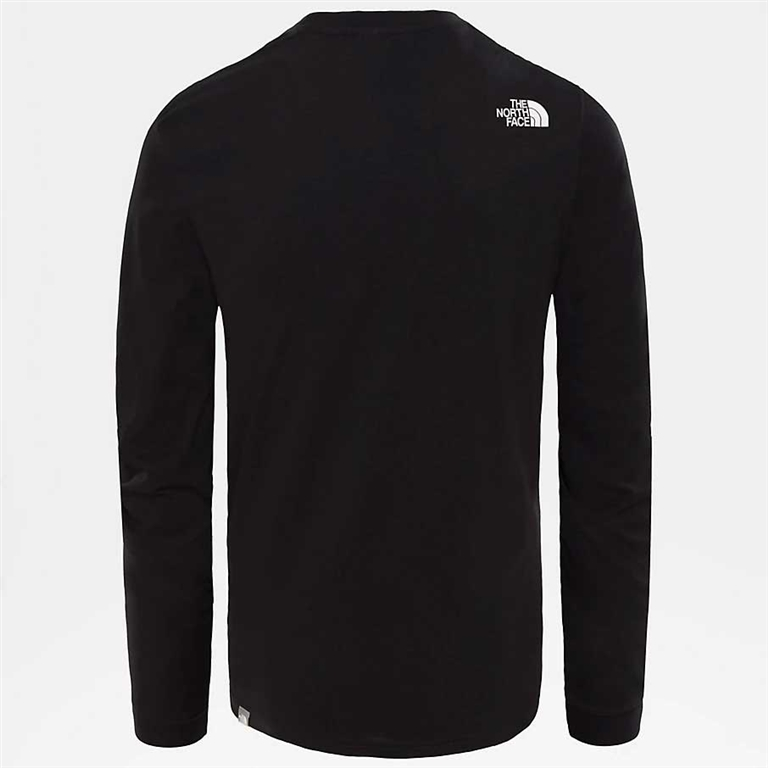 The North Face - T-Shirt - t-shirt a maniche lunghe simple dome nera 1