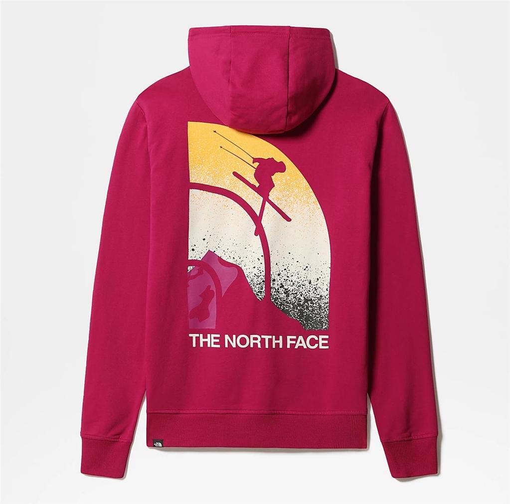 The North Face - Felpe - felpa da neve con cappuccio maven fucsia 1