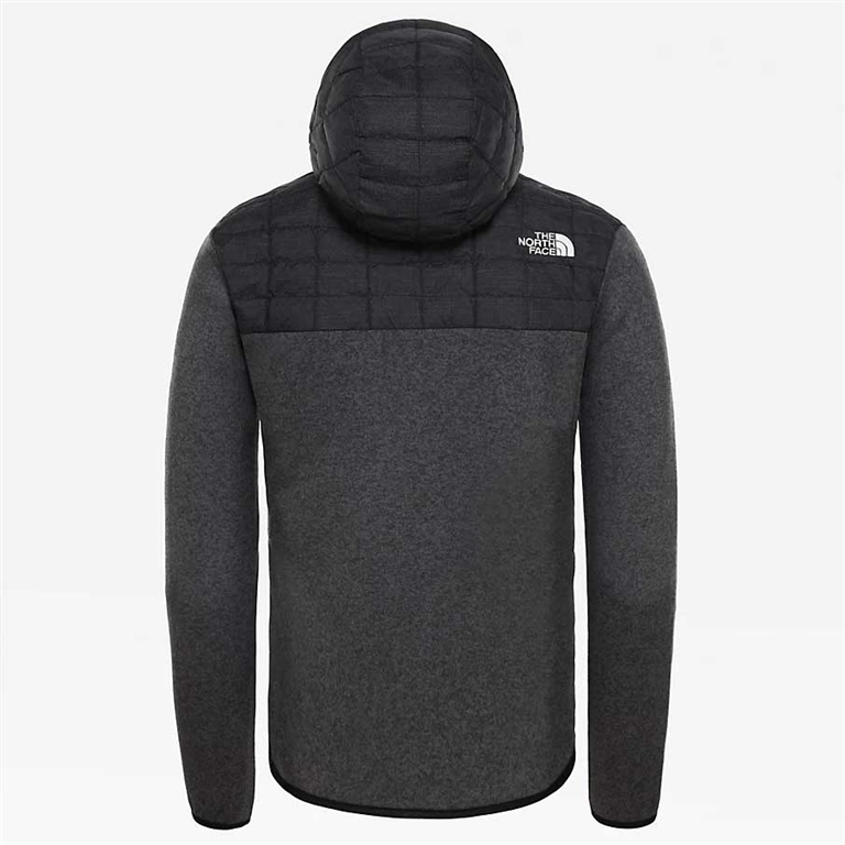 The North Face - Giubbotti - giacca in pile thermoball gordon lyons grigio 1