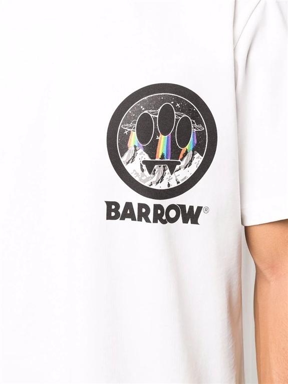 Barrow - T-Shirt - t-shirt in jersey con stampa bianca 2