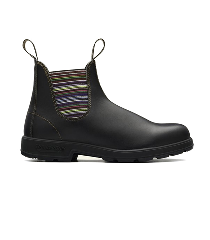 Blundstone - Scarpe - Sneakers - STIVALETTO CHELSEA #1409 MARRONE SCURO & RIGHE