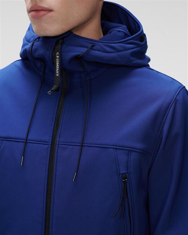 C.P. COMPANY - Giubbotti - c.p. shell-r medium goggle jacket blueprint 2