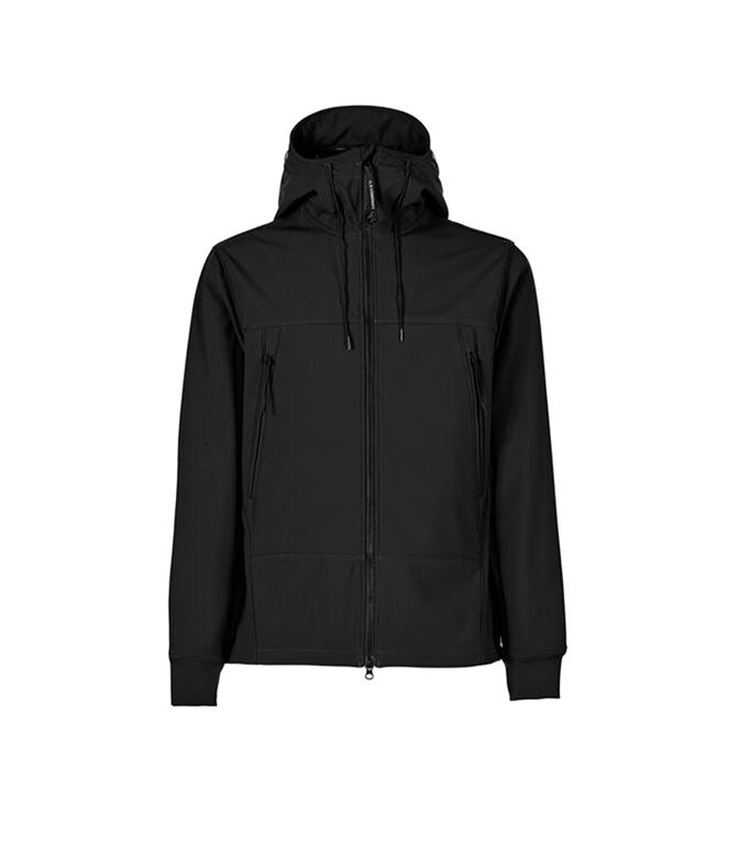 C.P. COMPANY - Giubbotti - c.p. shell-r medium goggle jacket nero