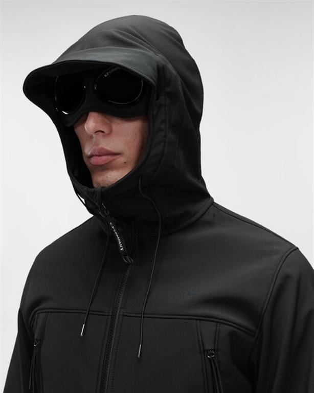 C.P. COMPANY - Giubbotti - c.p. shell-r medium goggle jacket nero 2
