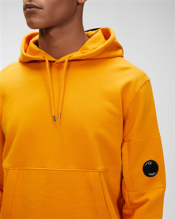 C.P. COMPANY - Felpe - diagonal raised fleece hoodie desert sun 2