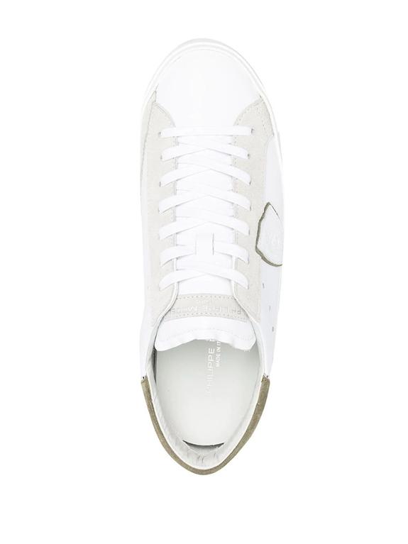 Philippe Model Paris - Scarpe - Sneakers - prsx mixage pop - blanc vert 1
