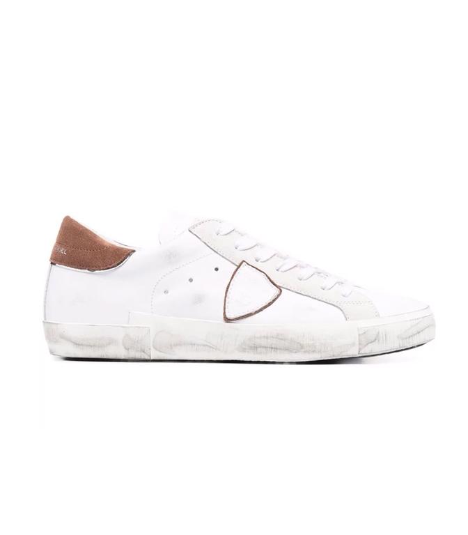 Philippe Model Paris - Scarpe - Sneakers - PRSX MIXAGE POP - BLANC COGNAC