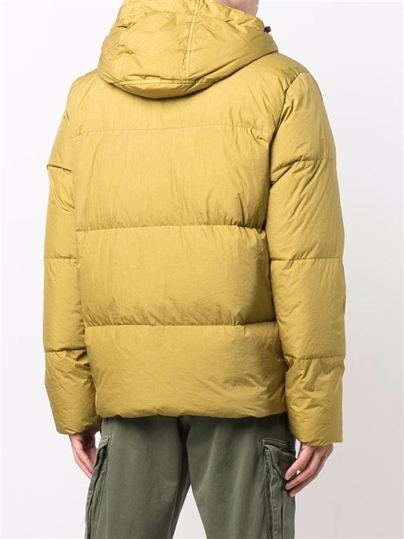 Stone Island - Giubbotti - garment dyed crinkle reps ny down-tc beige scuro 1