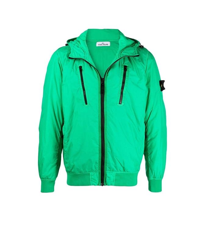 Stone Island - Giubbotti - garment dyed crinkle reps ny con primaloft-tc verde
