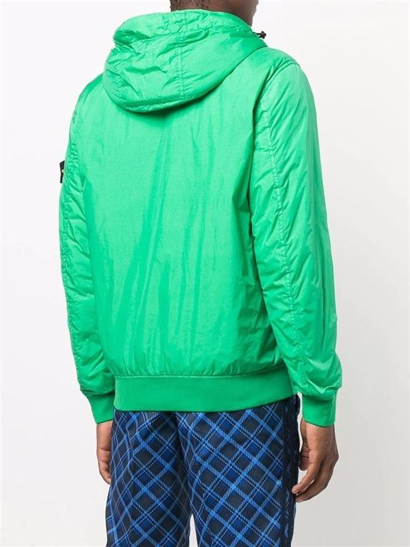 Stone Island - Giubbotti - garment dyed crinkle reps ny con primaloft-tc verde 1