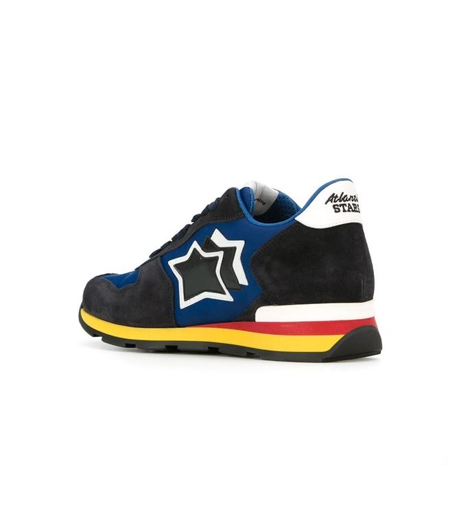 Atlantic Stars - Scarpe - Sneakers - sneakers antares in suede dark blu 1