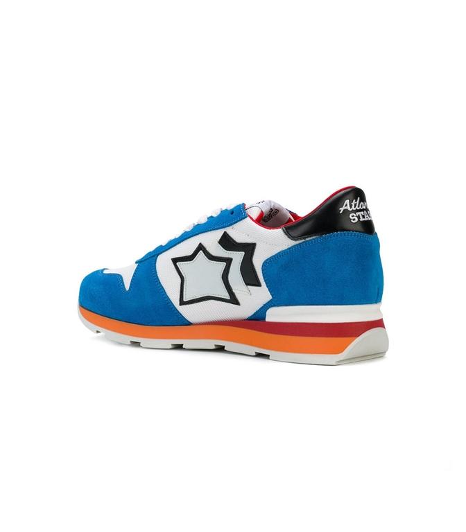 Atlantic Stars - Scarpe - Sneakers - sneakers sirius in suede blu/white 1