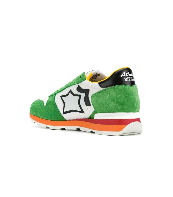 Atlantic Stars - Saldi - sneakers sirius in suede white/green 1