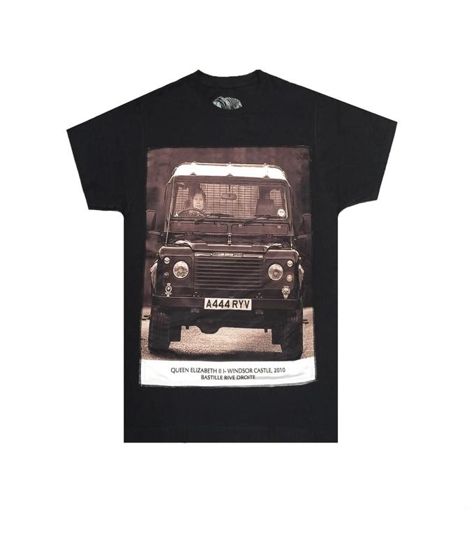 Bastille - T-Shirt - t-shirt con stampa seta queen nera
