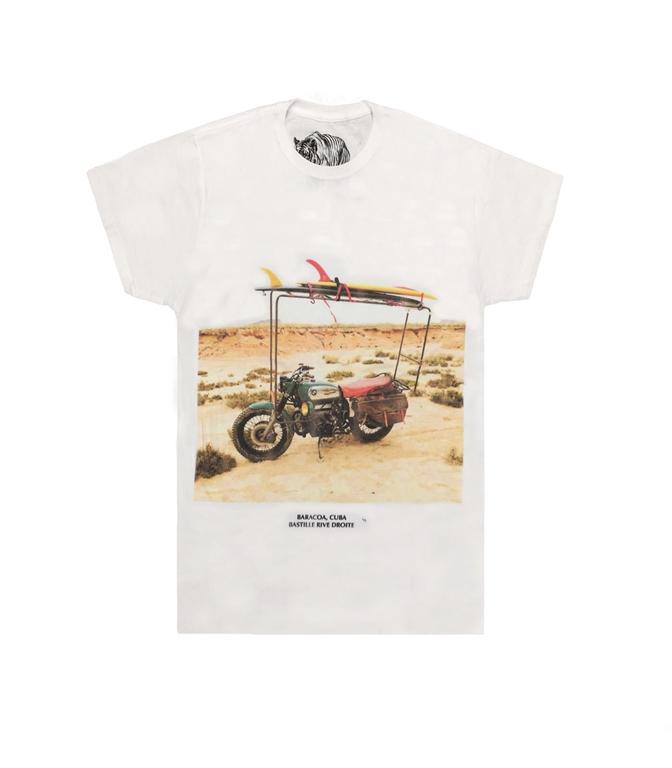 Bastille - T-Shirt - t-shirt con stampa baracoa bianca