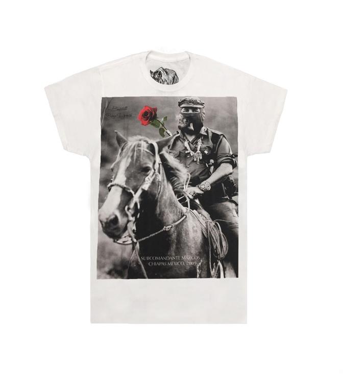 Bastille - T-Shirt - t-shirt con stampa marcos bianca