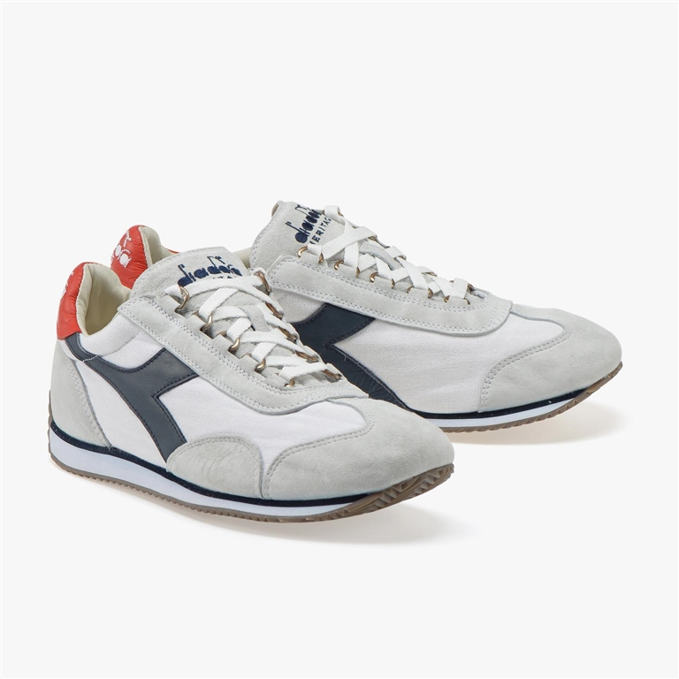 Diadora Heritage - Scarpe - Sneakers - equipe stone wash 12 wht/blue nights/high risk red 1