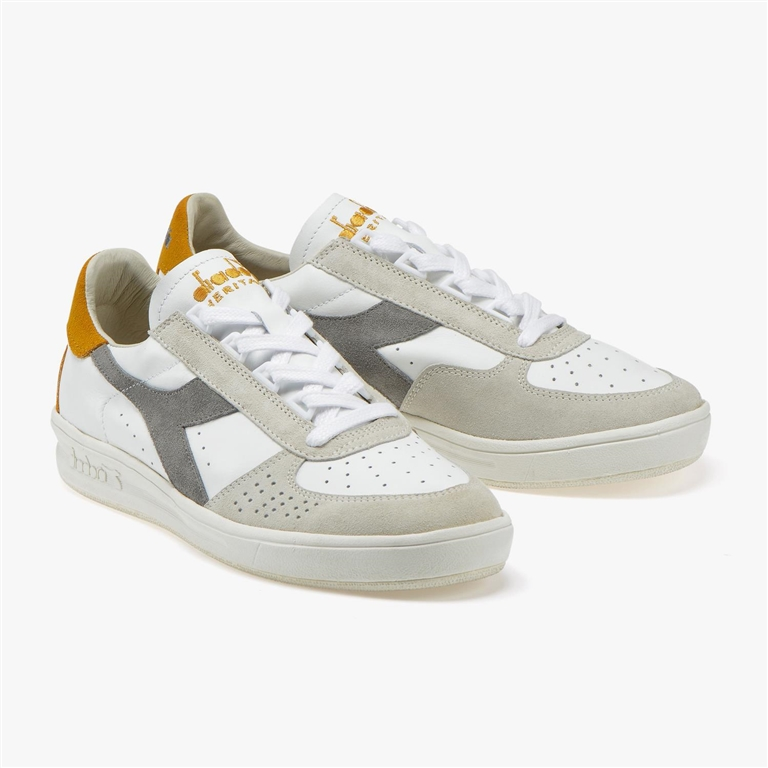 Diadora Heritage - Scarpe - Sneakers - b.elite s l drizzle/old gold 1